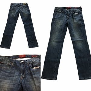 Mens Lucky jeans W 31 L 32 straight  221 Original
